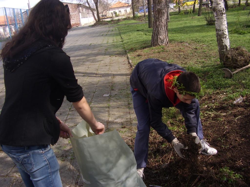 Включихме се  в кампанията на BTV-Да почистим BG за 1 ден