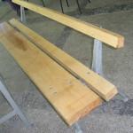 Направихме и нови пейки